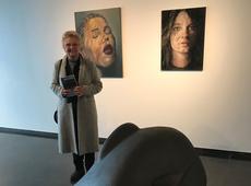 Marleen Verboven bezoekt expo Reflexion