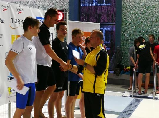 Felicitaties voor Zwemclub Geel