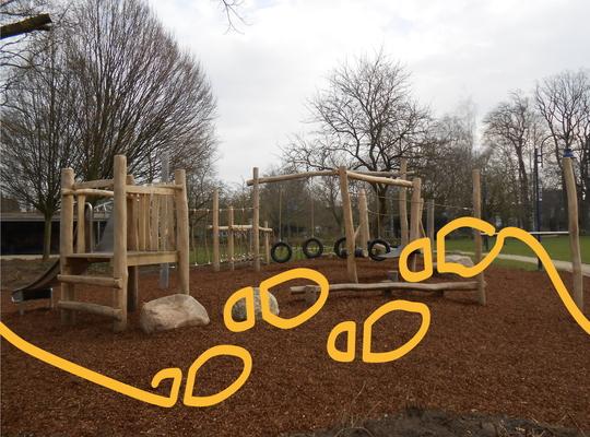 Speelparcours Stadspark Geel