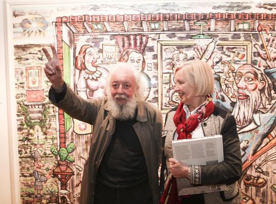 Vera Celis en Fred Bervoets