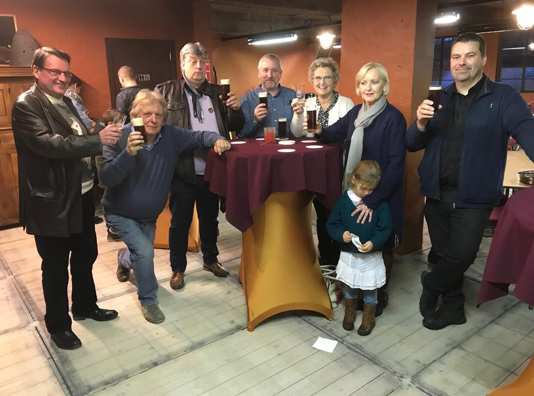 Opening brouwerij